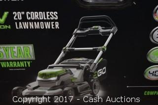 """EGO 20"""" 56v Cordless Push Mower w/ Battery & Charger"""