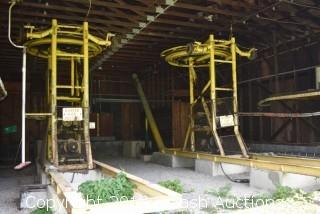 (2) T-Bar Ski Lifts
