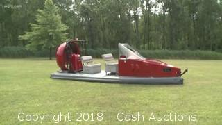2012 Universal 19XR-IC Hovercraft w/ Trailer & Cover