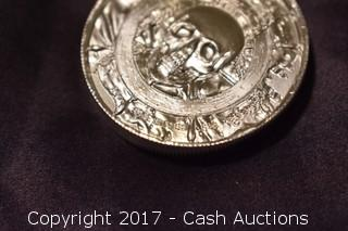 "Privateer Series ""Captain"" 2 Troy Oz .999 Silver Ultra High Relief Coin"