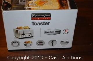 Professional Series Stainless Toaster