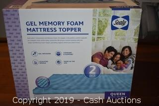 Sealy Gel Memory Foam Mattress Topper
