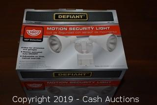 Defiant Motion Security Light