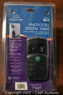 Holiday Time Photocell Digital Timer