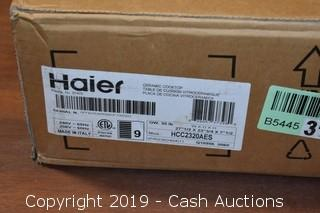 Haier 27.5x23.75x7.5 Ceramic Electric Radiant Cooktop