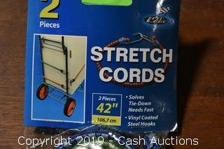 """2-Pack 42"""" Stretch Cords"""