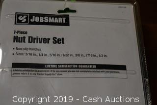 Jobsmart 7-Piece Nut Driver Set