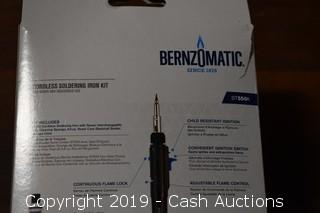 Bernzomatic Cordless Soldering Iron Kit