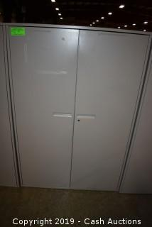 Two Door Metal Cabinet
