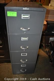 Master-Filer 4-Drawer Filing Cabinet