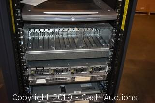Dell Server Rack w/ Extras