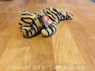 Ty Beanie Baby: Stripes the Tiger