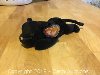 Ty Beanie Baby: Velvet the Black Panther