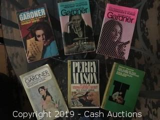 (6) Early 1960's Perry Mason Paperbacks
