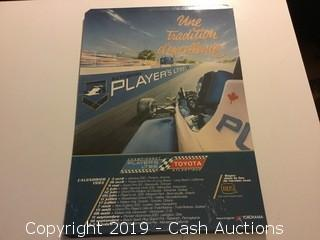 (4) Early 1990's Grand Prix Racing Posters