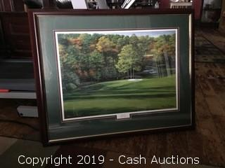 Signed Golf Lithograph: Dogwood #11 by Marci L. Rule
