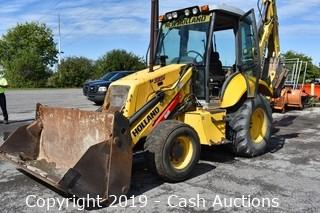 2007 New Holland B95 Back Hoe