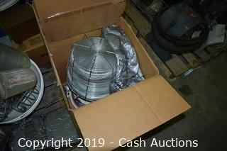 (2) Pallets of Light Fixtures & Parts