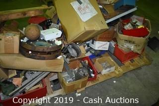 (2) Pallets of Misc. & Spool of Wire