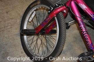 Mongoose Girls Freestyle Bicycle