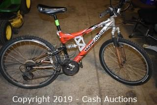Mongoose XR-75 Aluminum Full Suspension Mountain Bike