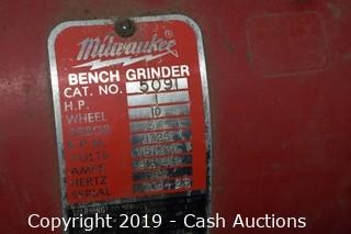 Milwaukee 1725 RPM Pedestal Grinder