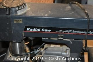 Craftsman Radial Arm Saw w/ Stand