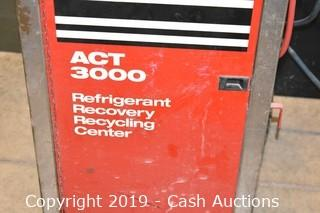 Snap-On ACT 3000 Refrigerant Recovery Recycling Center