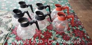(7) Coffee Decanters