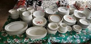 Lot of Misc. Plates, Dishes, Saucers, Etc.