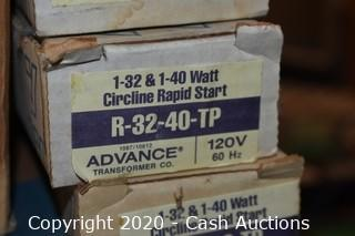 Approx (150) Misc Ballasts