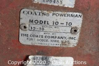Coats Model 10-10 Tire Machine