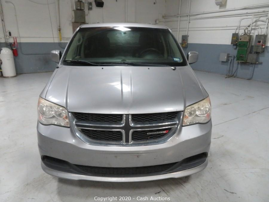 2013 Dodge Grand Caravan Forfeited by The US Marshals Service
