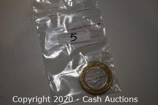 Mandalay Bay Casino Collectible .999 Silver Token