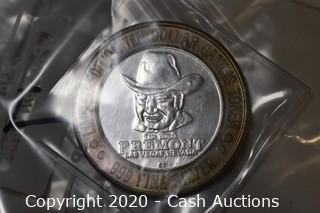Freemont Casino Collectible .999 Silver Token