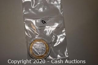 McCarran Airport Collectible .999 Silver Token
