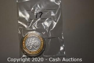 2000 Barbary Coast Collectible .999 Silver Token
