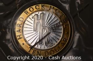 Hard Rock Hotel Collectible .999 Silver Token