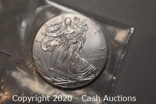 2012 Uncirculated .999 Silver Eagle