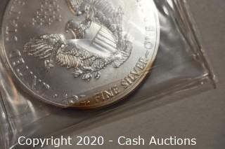 2013 Uncirculated .999 Silver Eagle
