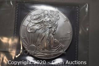 2014 Uncirculated .999 Silver Eagle