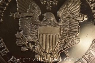 1992 One Troy Pound .999 Silver Eagle Coin