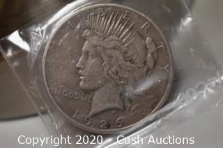 1926-S Ungraded Silver Peace Dollar