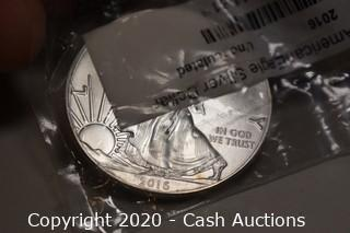 2016 Uncirculated .999 Silver Eagle