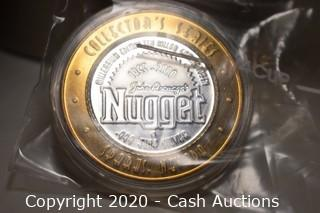 John Ascuga's Nugget Collectible .999 Silver Token