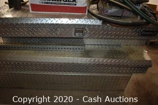 (2) Diamond Plated Truck Boxes