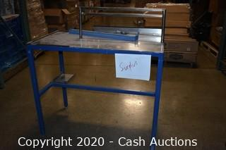 Stainless Steel Top Workbench