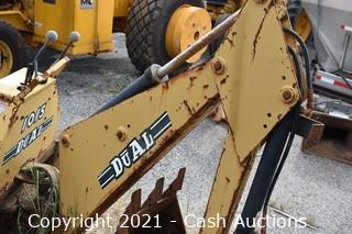 Du-Al 1015 Excavator Attachment