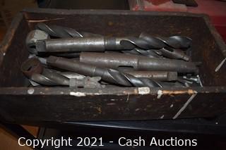 (2) Boxes of Large Drill Bits