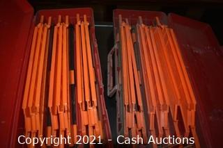(4) Cases of Emp-Tuff-Flare Safety Reflectors
